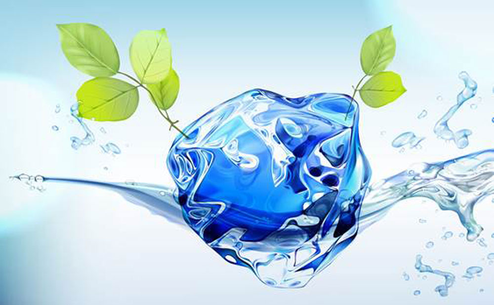 Photo of water splash to represent Threesixty's eco-products