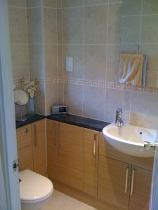Refitted bathroom - traditional style