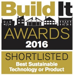 Build It Awards 2016: Shortlisted for Best Sustainable technology