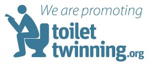 We are proud to support Toilet Twinning - logo