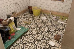 Metro wall & Decor floor tiles almost complete